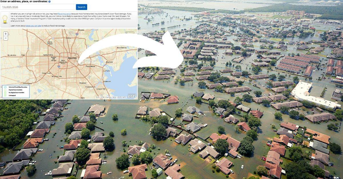 How To Check for Flooding History When Buying A Home In Houston