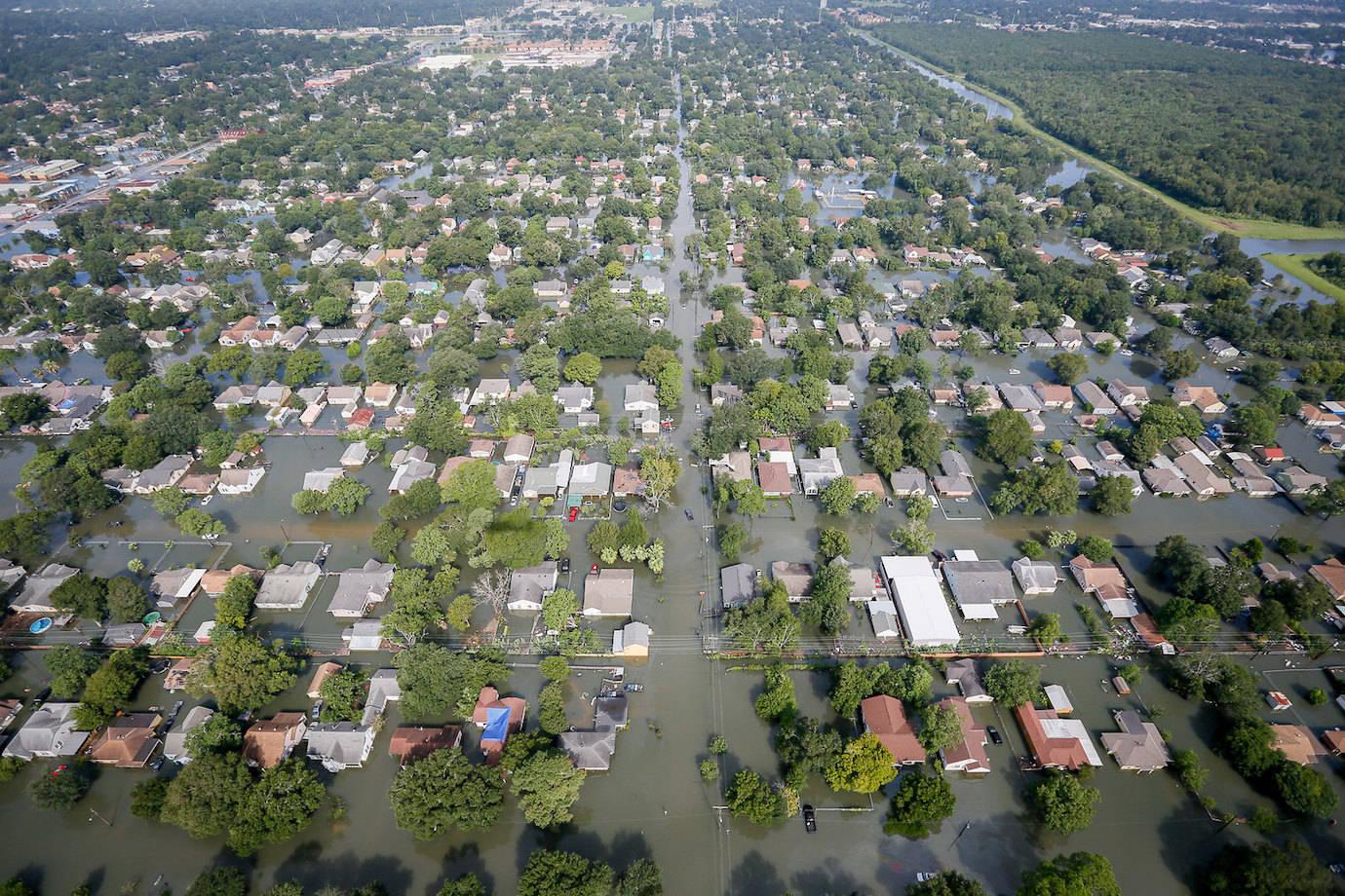 Hurricane Harvey, Tropical Storm Imelda, and Houston Flood Maps