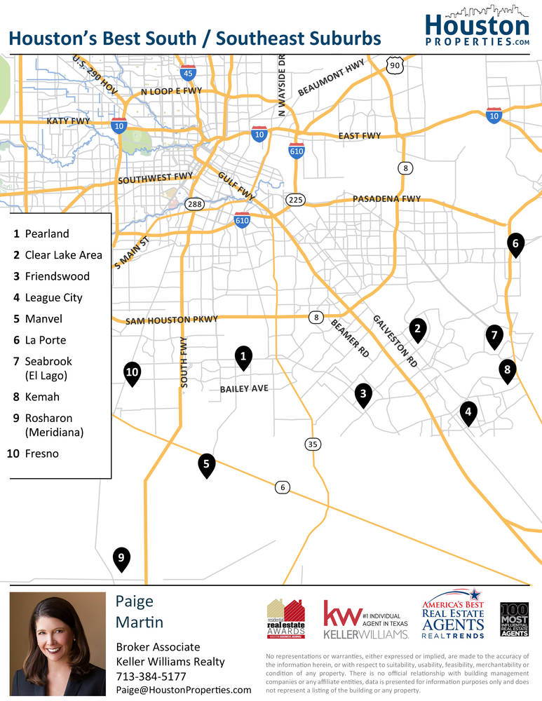 The Best South Houston Neighborhoods / Best Southeast Houston Neighborhoods