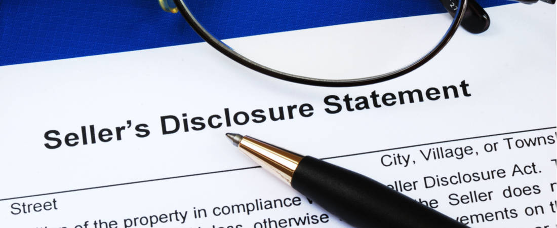 Mistake #7: Not Having A (Correctly Completed) Seller's Disclosure