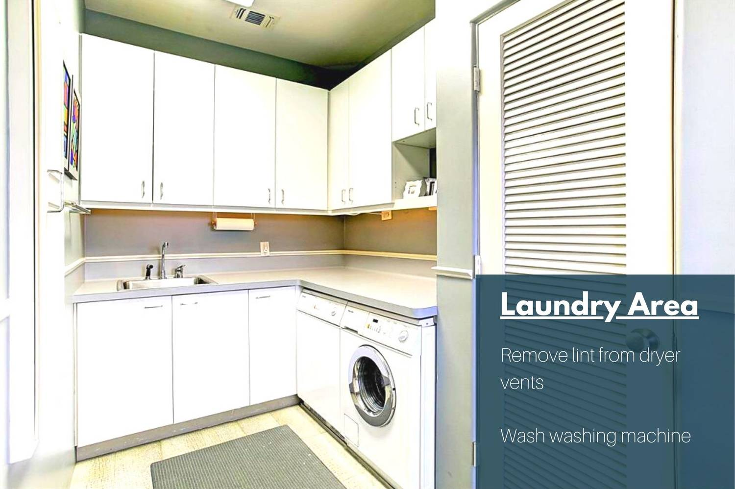 Laundry Room Upkeep