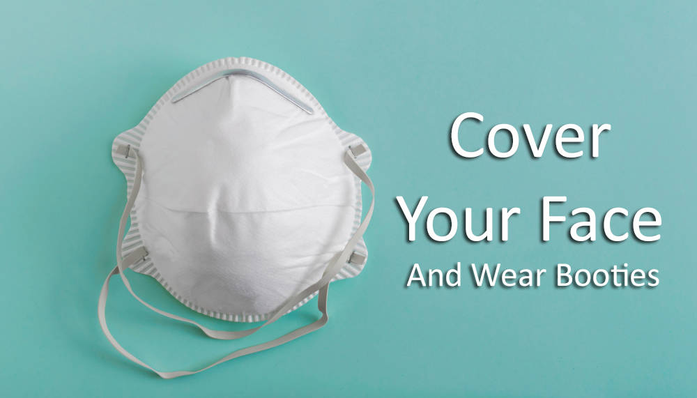 BUYER TIP: Protect Yourself – Cover Your Face, Hands, and Feet