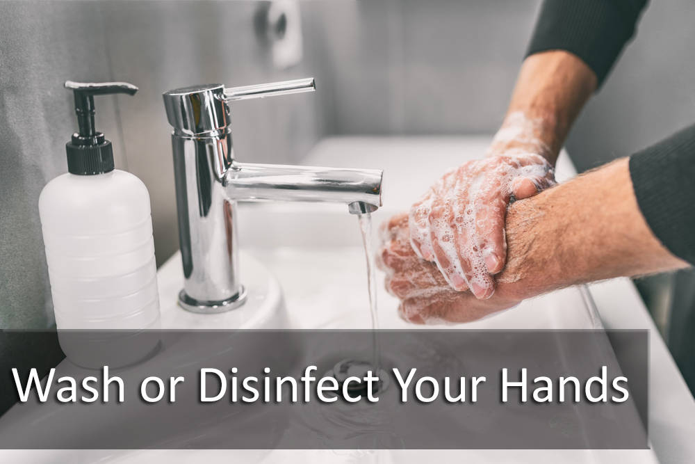 BUYER TIP: Always Wash or Disinfect Your Hands