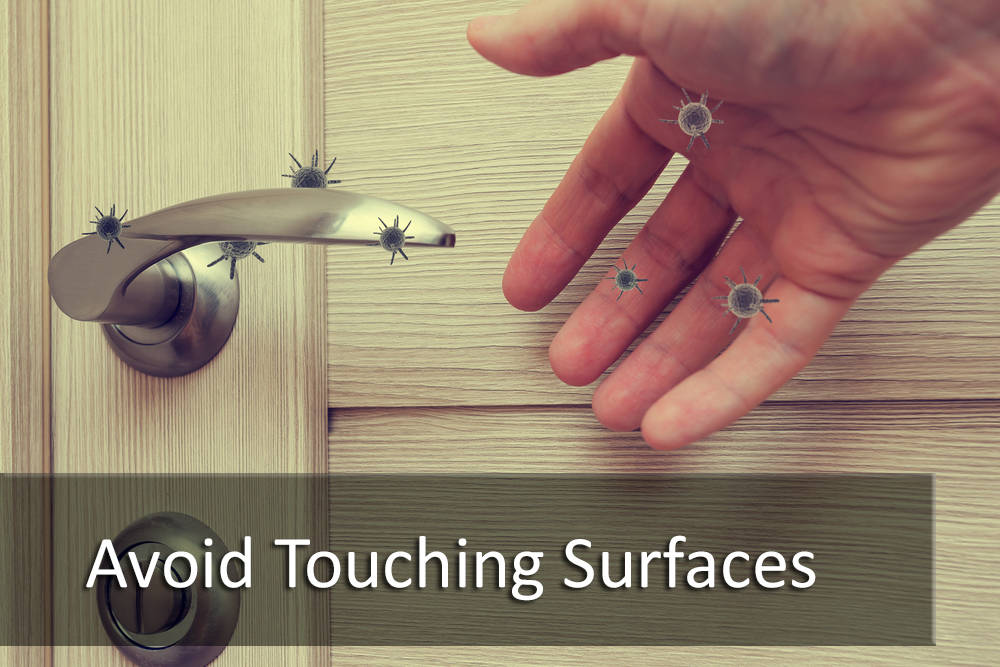 BUYER TIP: Avoid Touching Surfaces