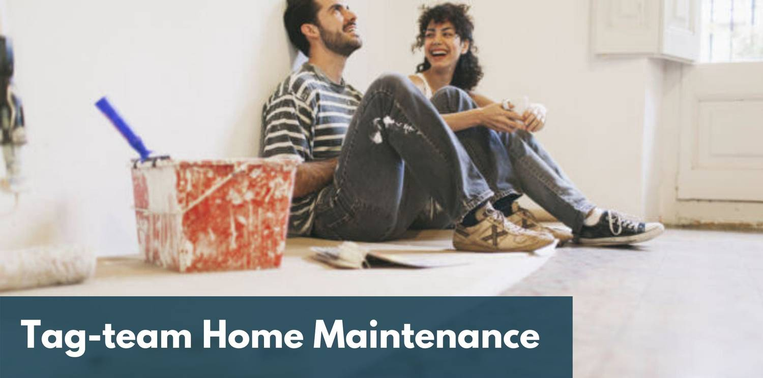 Work On A Home Maintenance Project