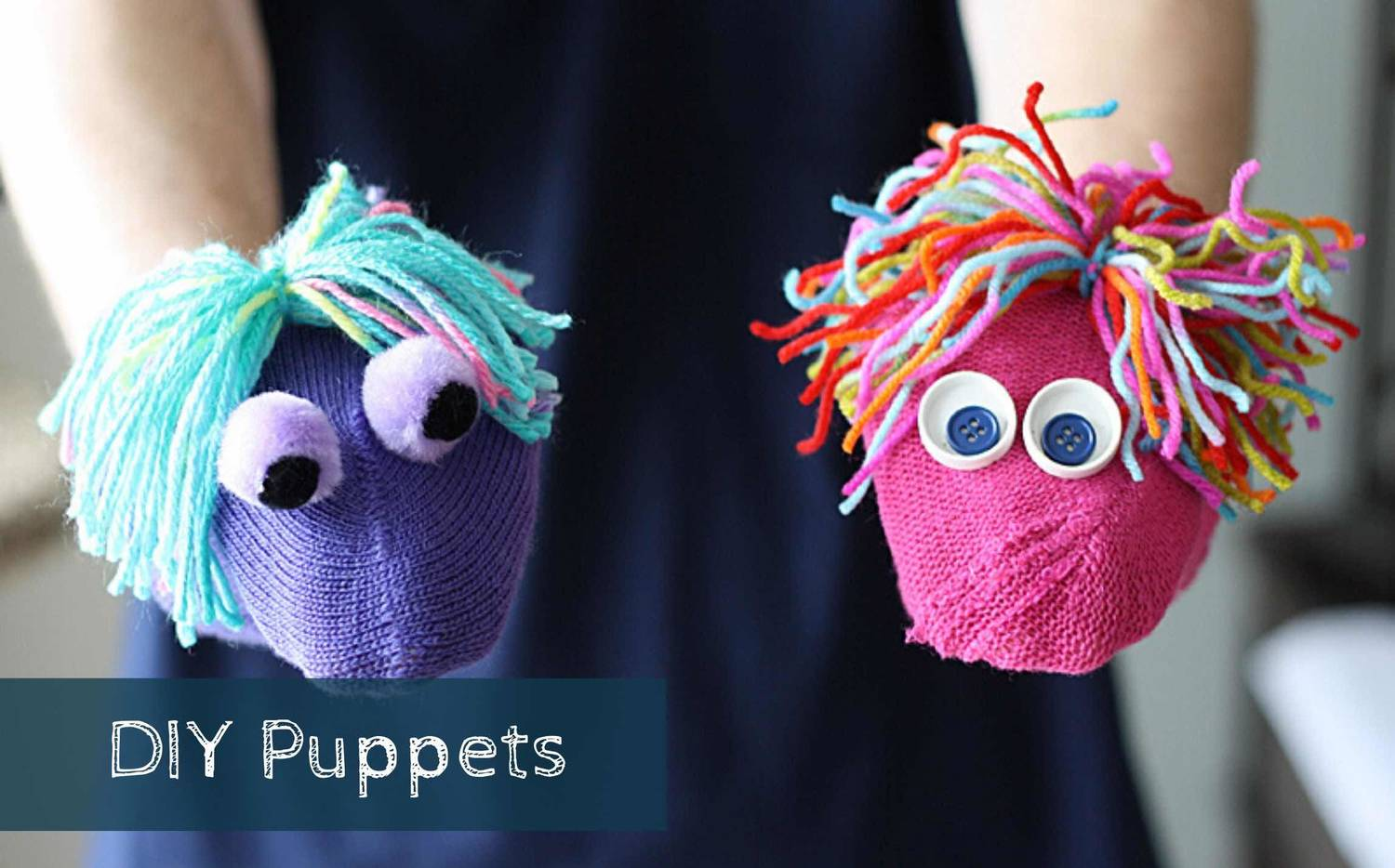 Make Your Own Puppets And Put On A Show