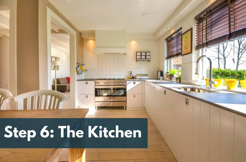 Step 6: Kitchen