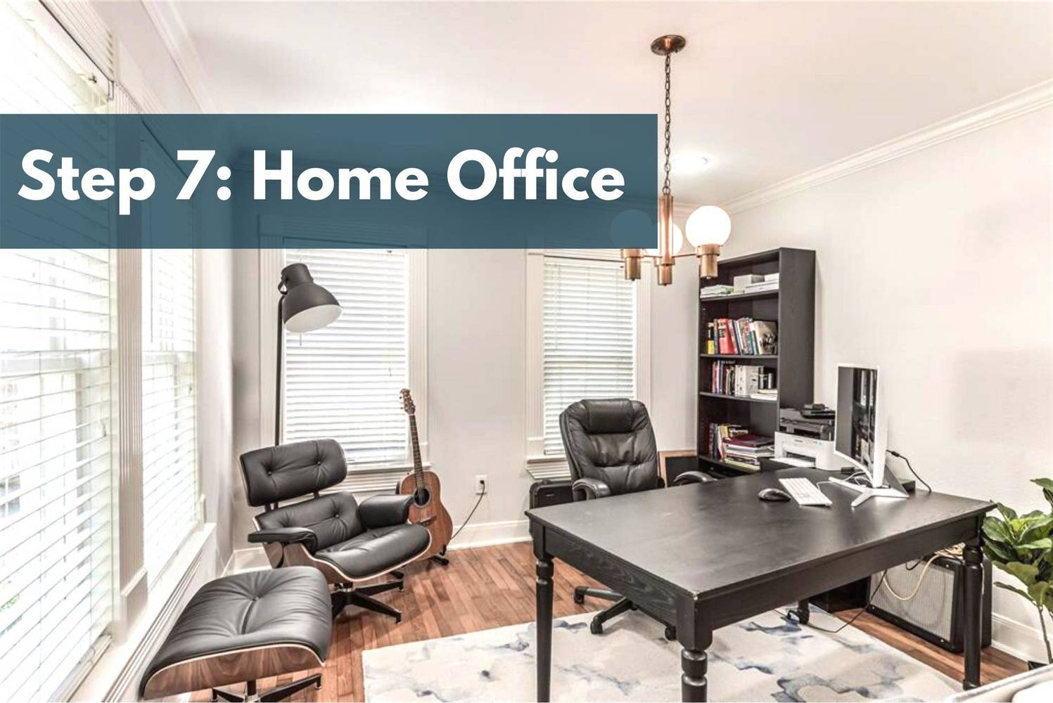 Étape 7: Bureau à domicile ou zone d'étude