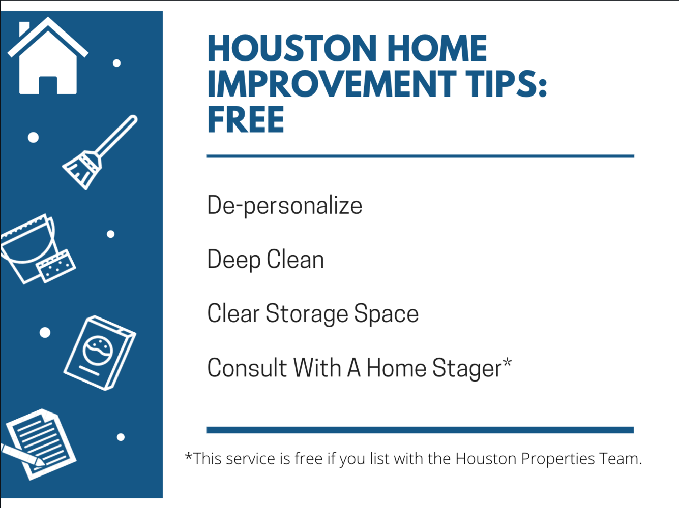 Houston Home Improvement Tips: Increase Home Value For Free