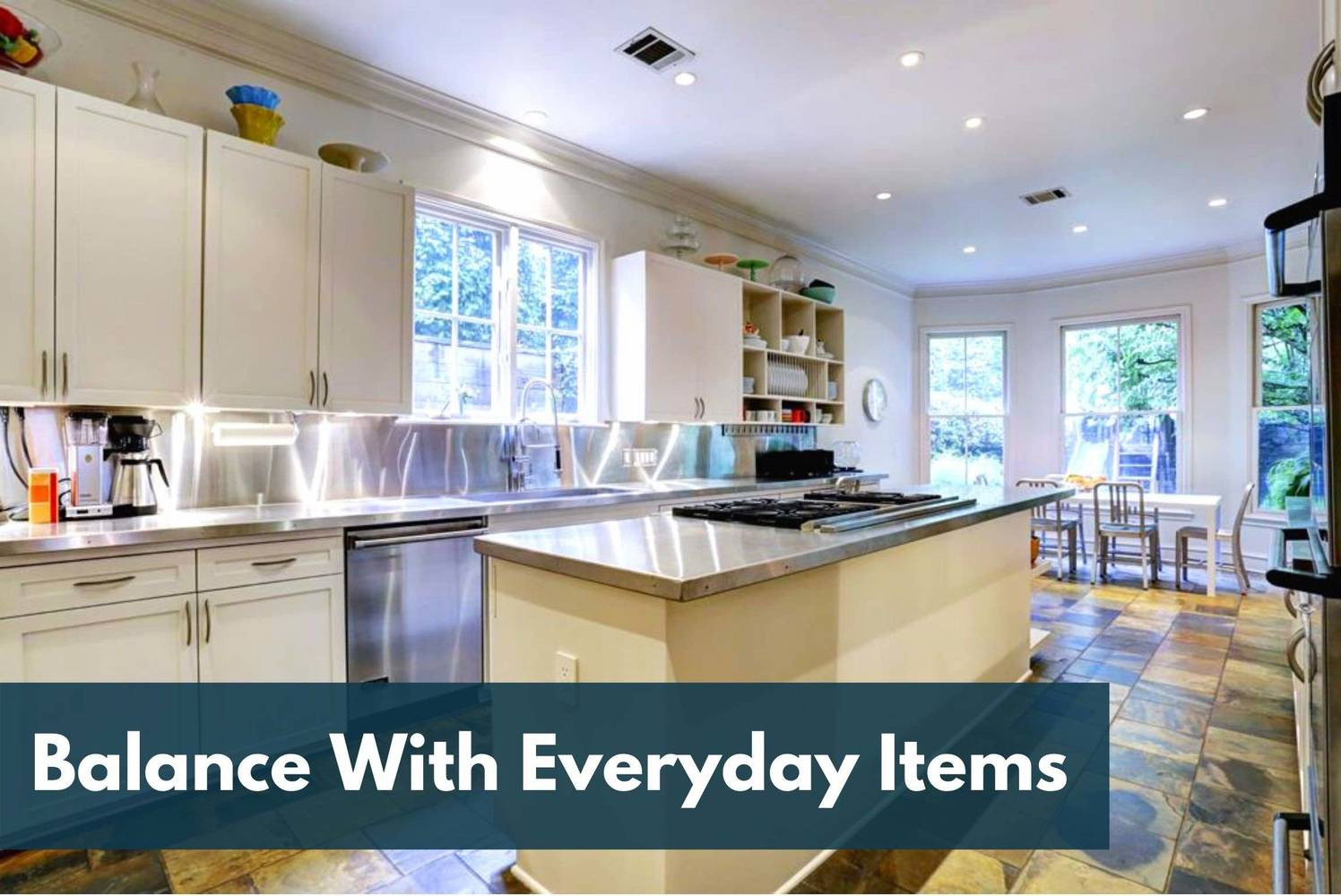 Houston Home Staging For All: Balance With Everyday Items