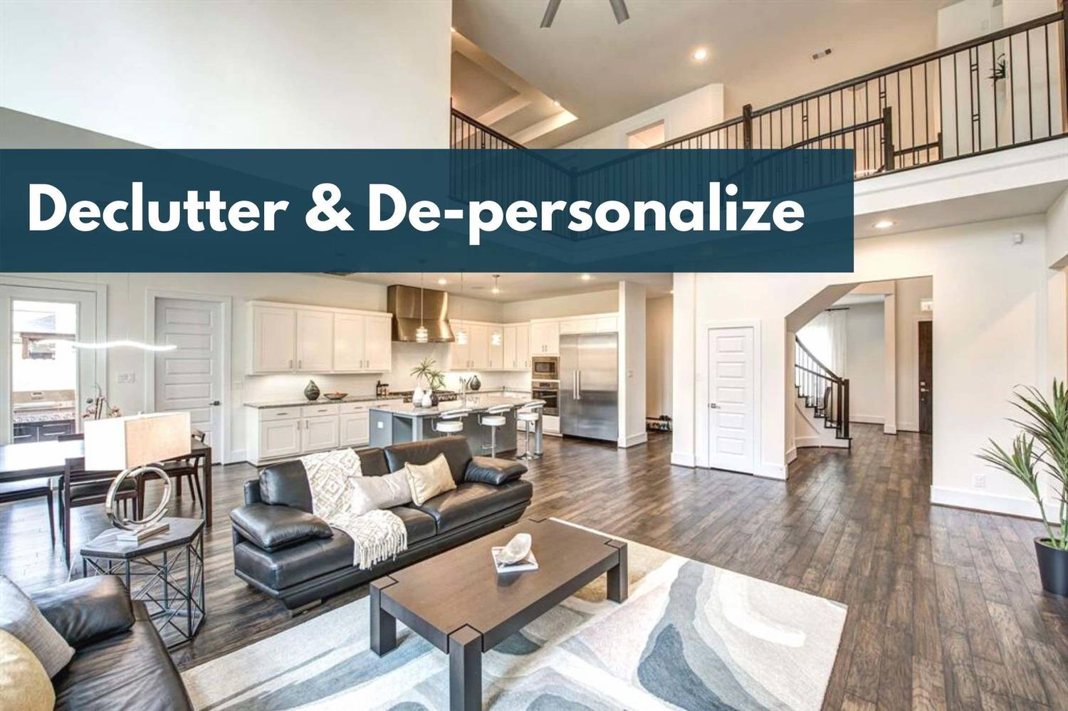 Budget-friendly Staging Tip: Declutter and De-personalize