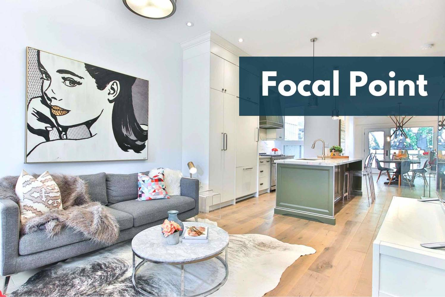 More House Staging Hacks: Use A Focal Point