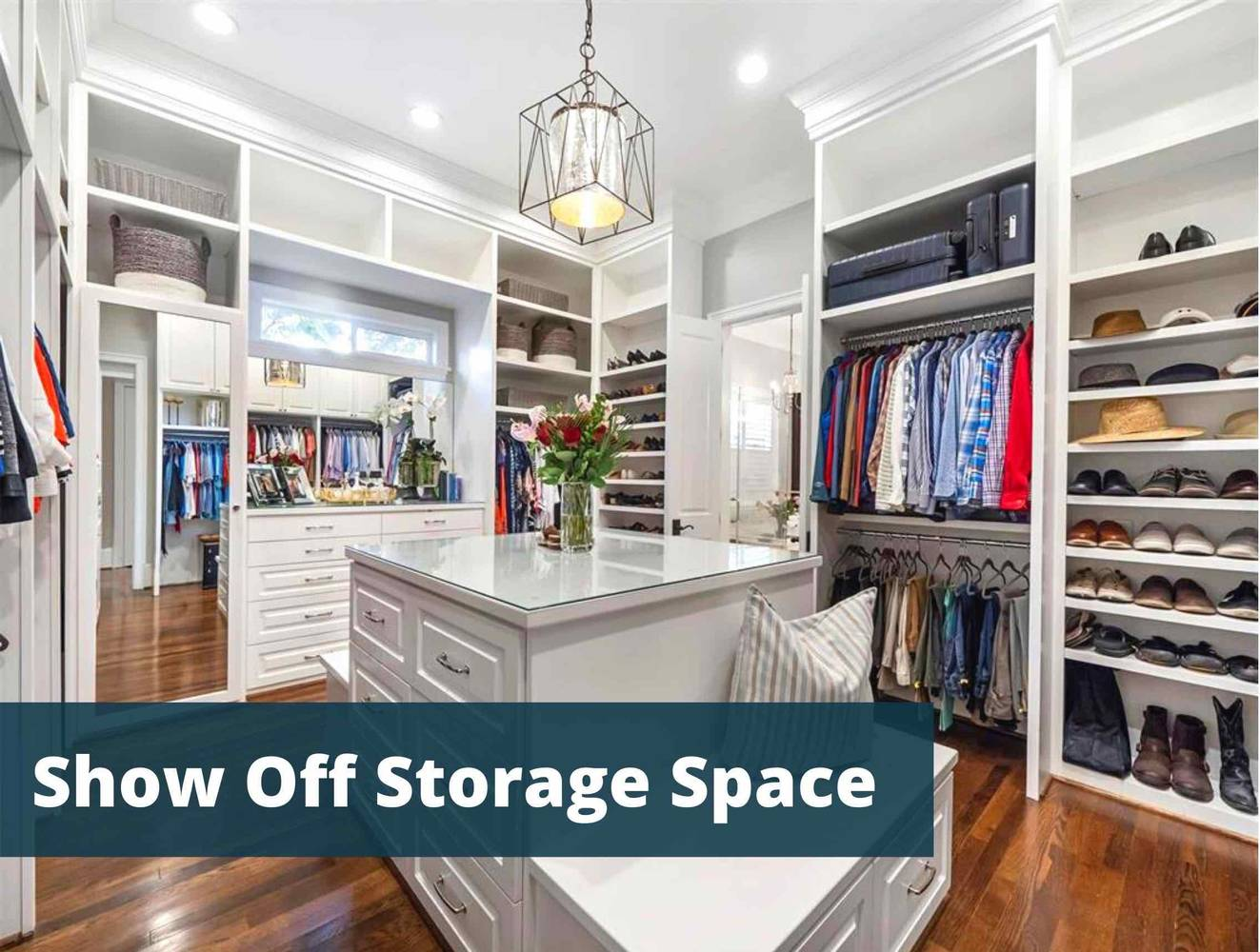 Making An Impact: Show Off Storage Space