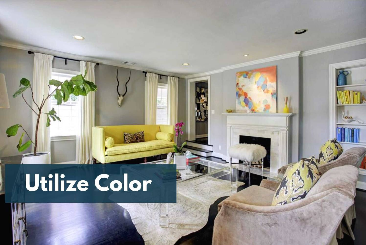 Houston Home Staging Ideas: Use Colors To Your Advantage