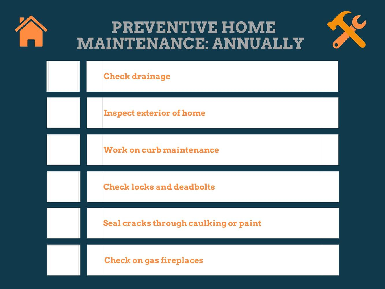 Annual Preventive Home Maintenance: How To Sell Your Home For The Most Money