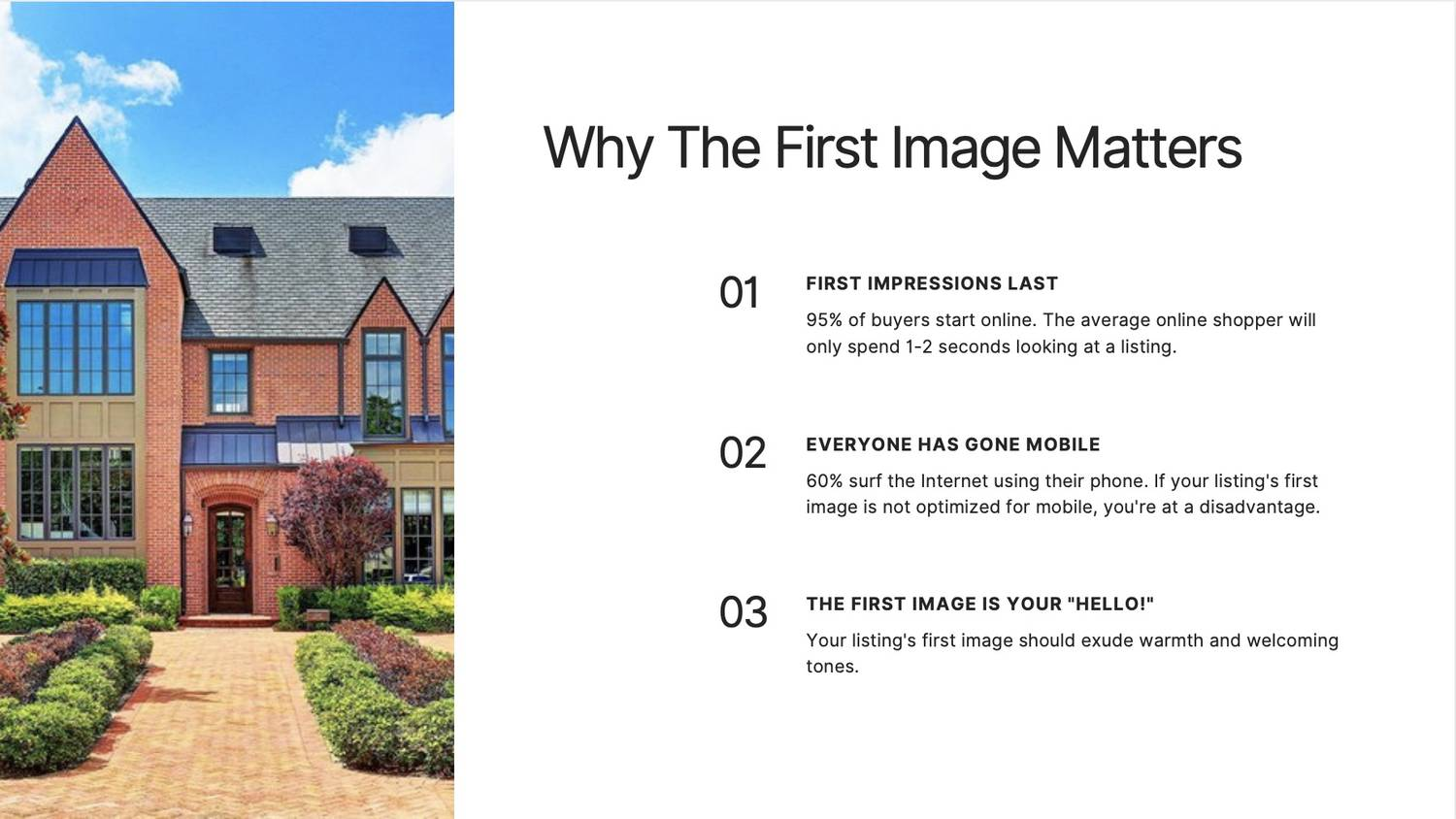 Mistake #3: Using a Wrong (Or Bad) First Photo