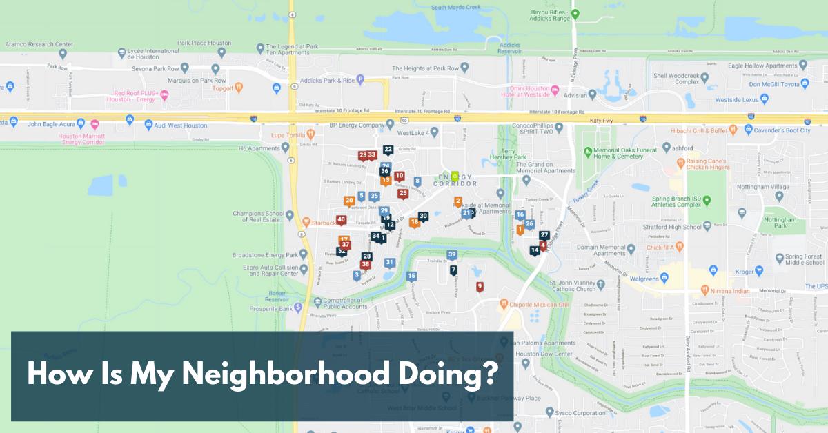How Is My Neighborhood Doing?