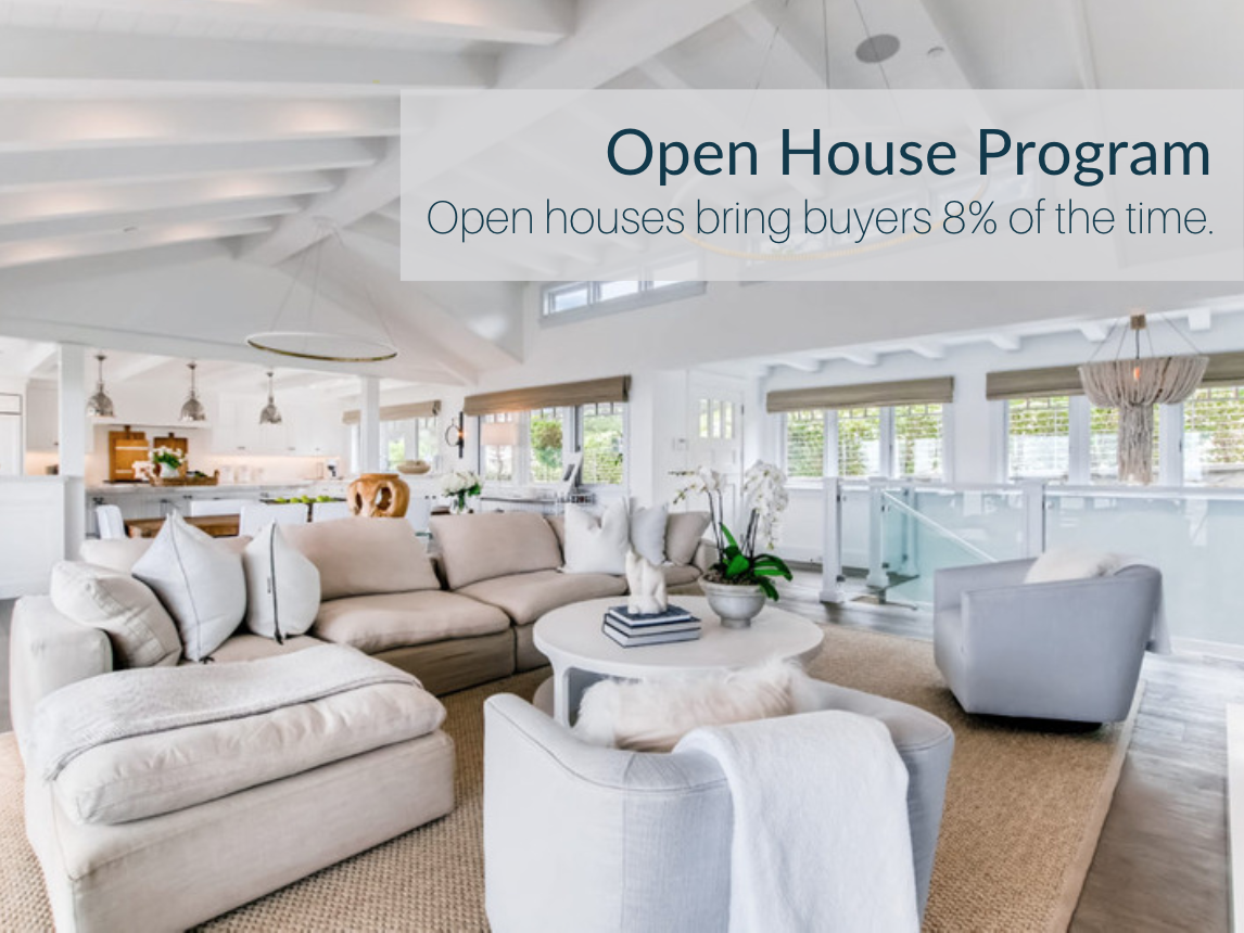 Put Your Home In Front With Our Open House Program