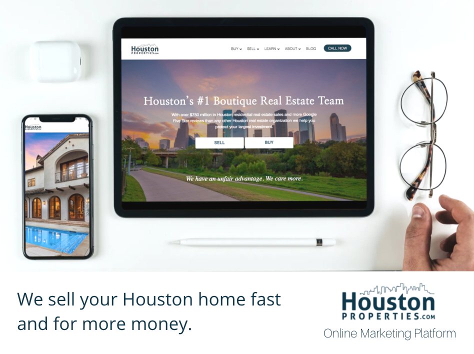 Sell Your Home Fast For More Money: Houston Properties Online Marketing