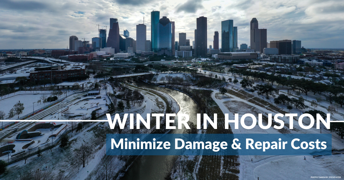 Winter In Houston: How To Deal With Home Damage From Snow & Cold Weather