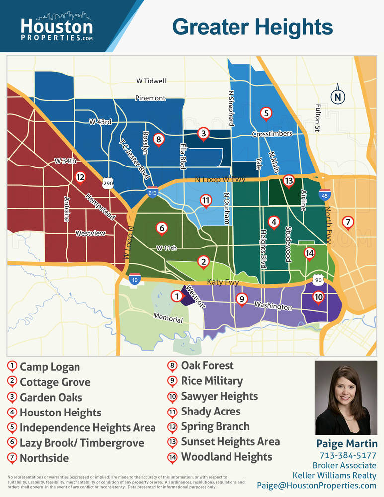 Greater Heights Area Real Estate Trends & Appreciation