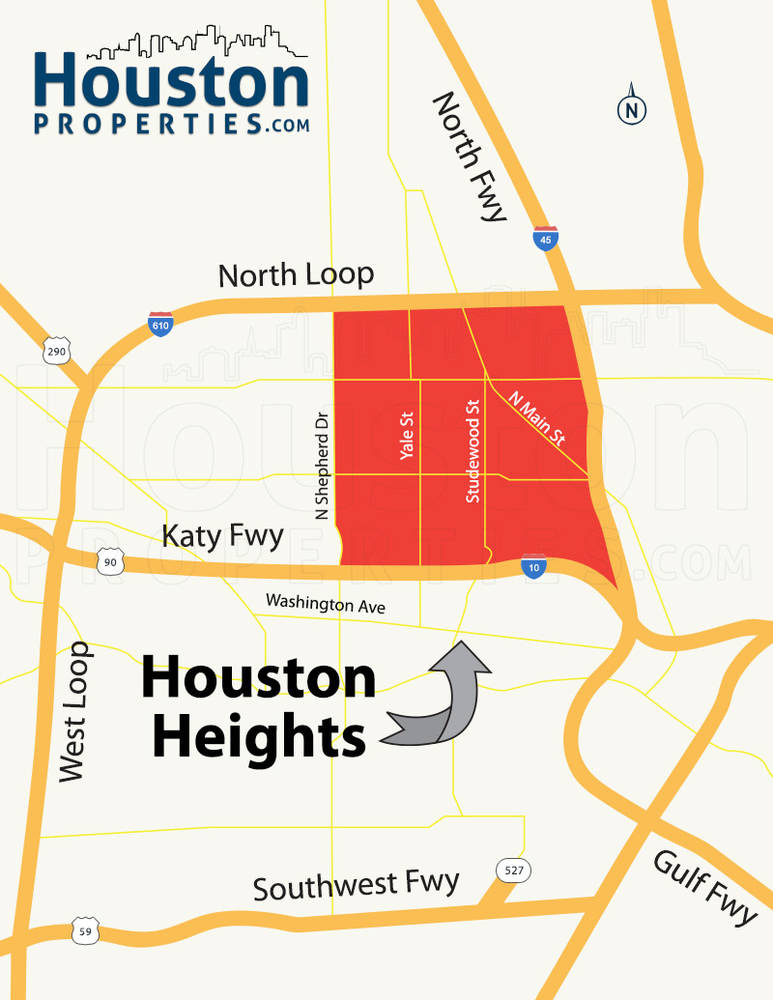 Houston Heights Area Data And Historic Sales Trends