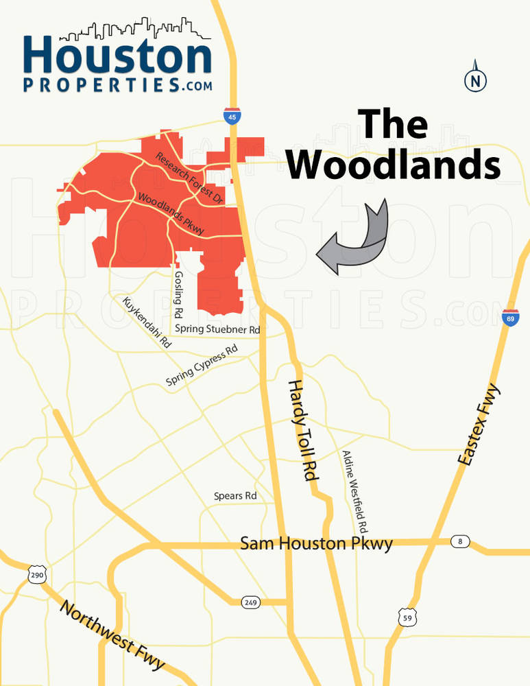 Most Accessible Neighborhoods In The Woodlands