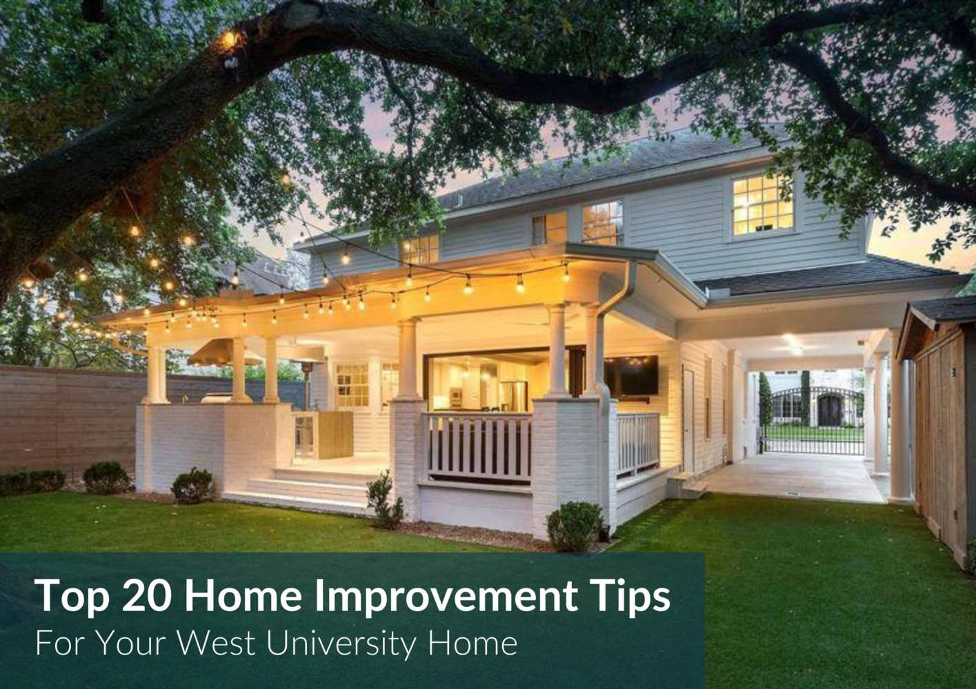 20 Makeovers To Sell Your West U Home