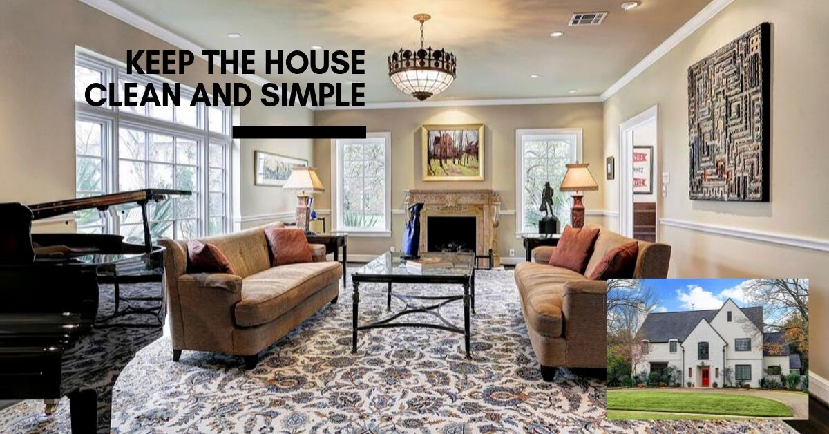 river oaks staged home