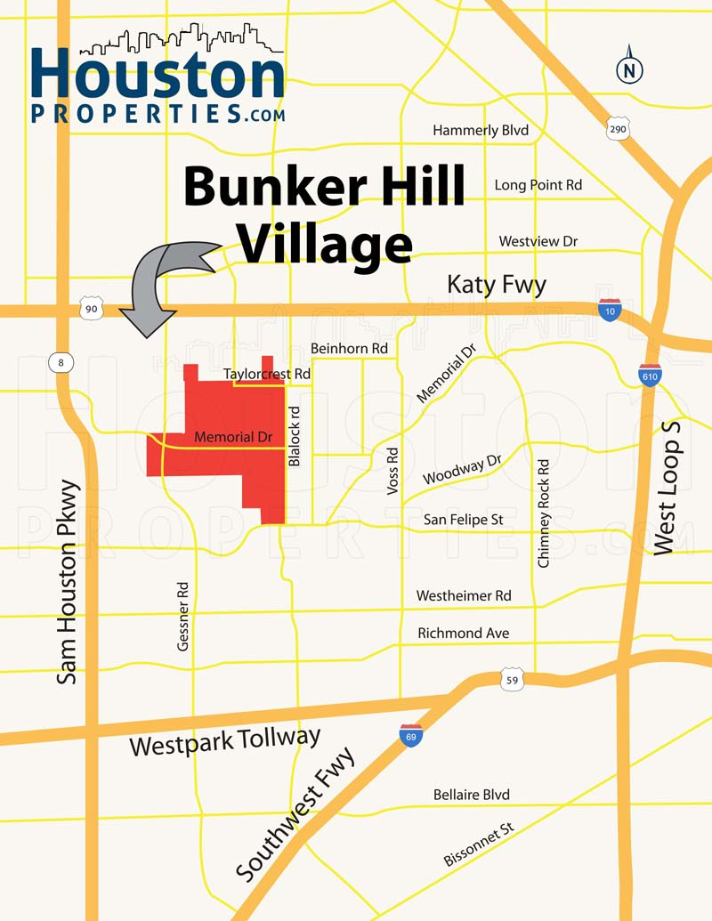 Bunker Hill Map