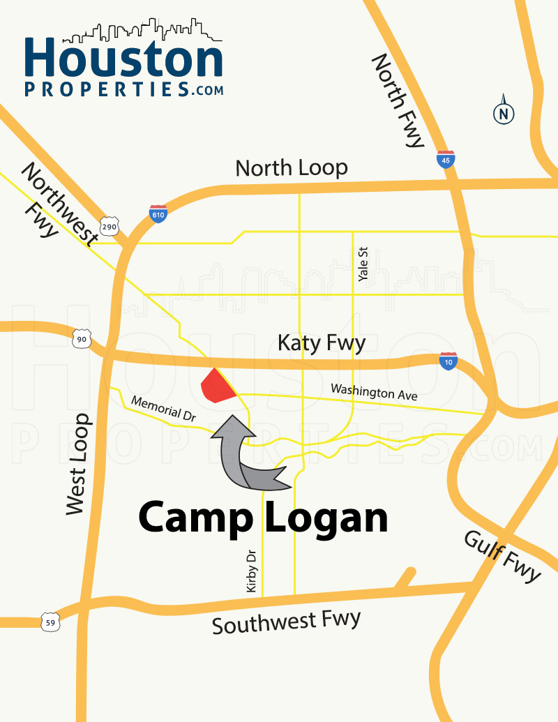 Camp Logan Map