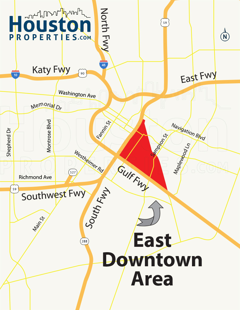 East Downtown Map