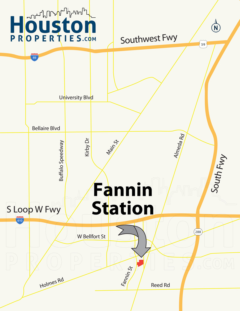 Fannin Station Map