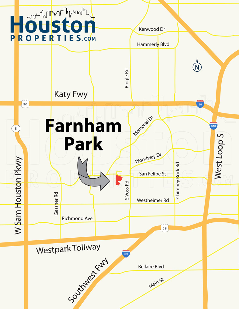 Farnham Park Map
