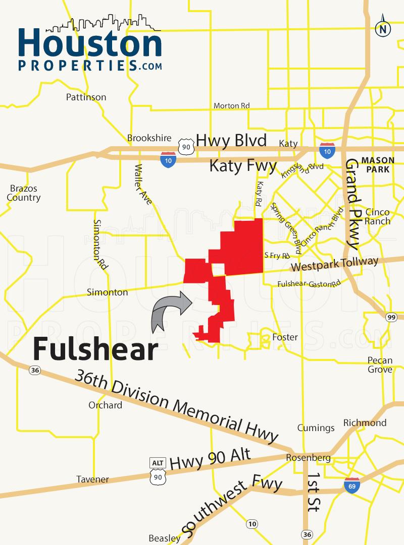 Fulshear Map