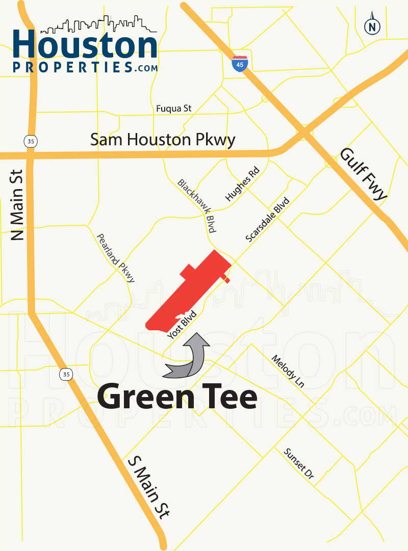 Green Tee Terrace Map
