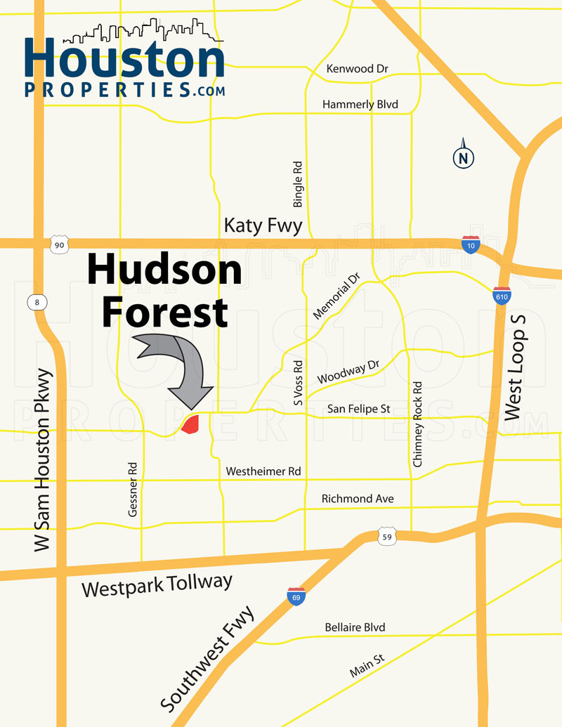 Hudson Forest Map
