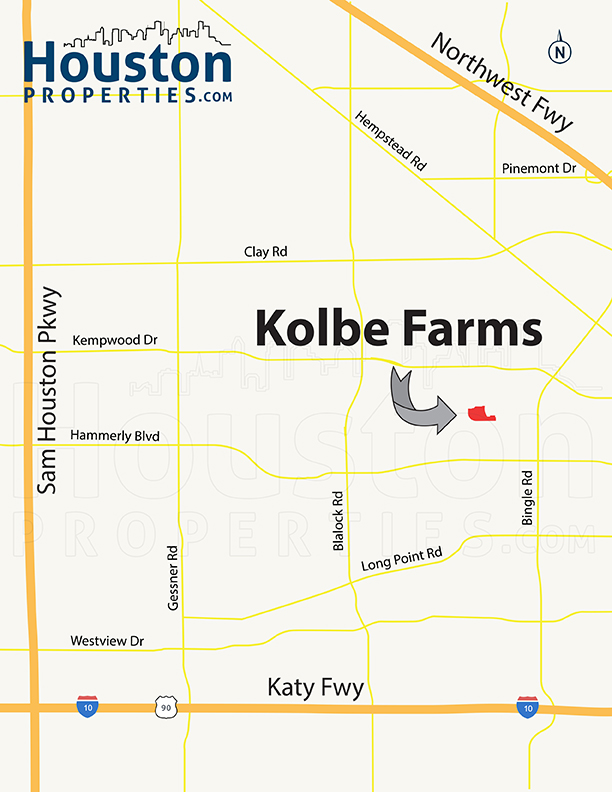 Kolbe Farms Map
