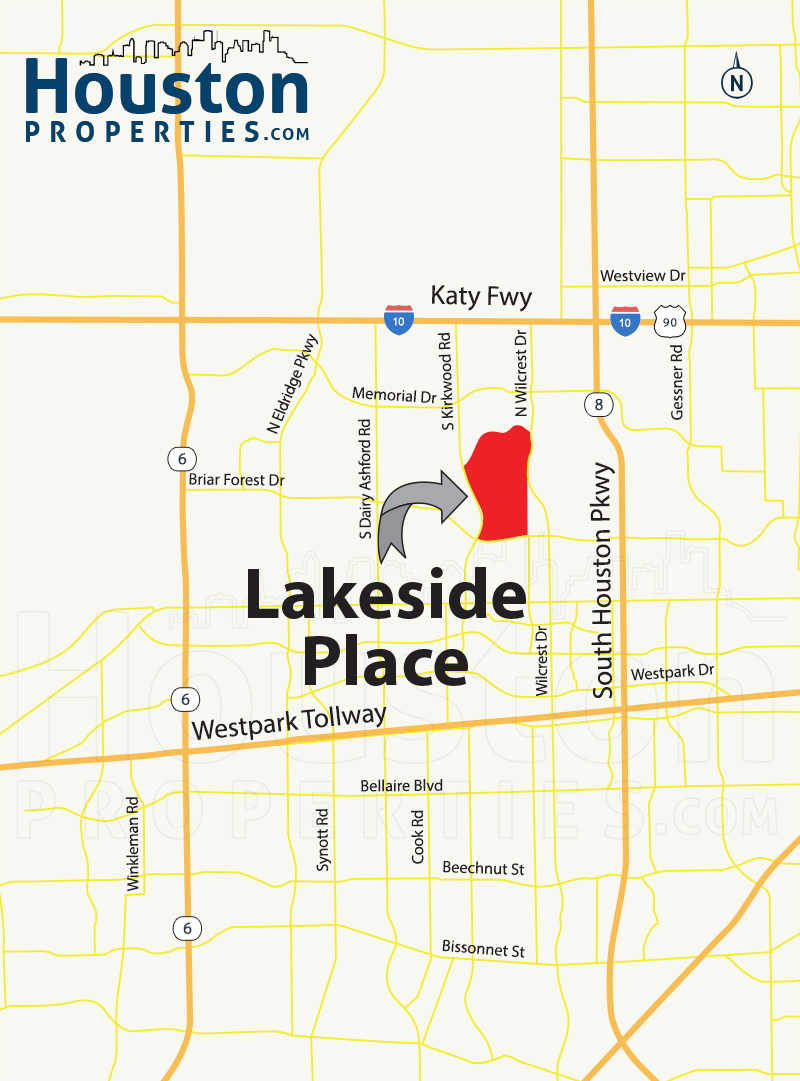 Lakeside Place Map