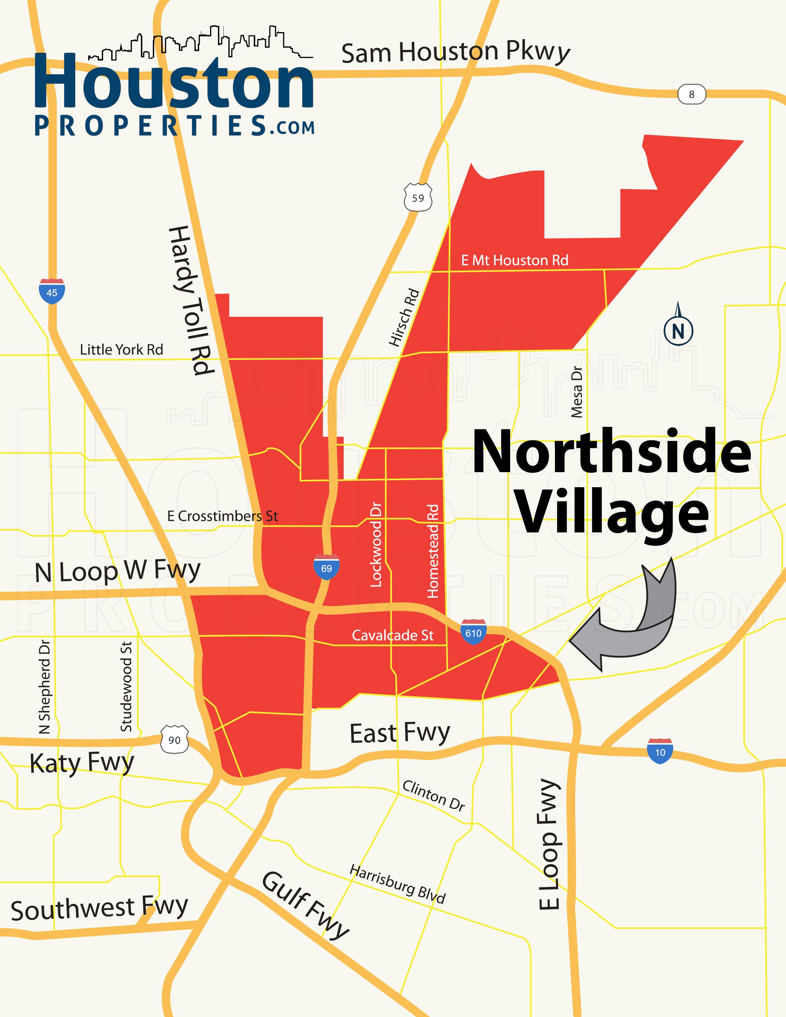 Northside Map