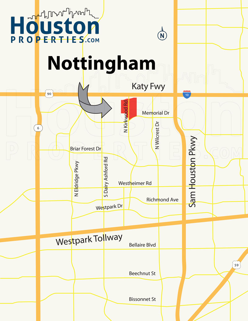 Nottingham Forest Map