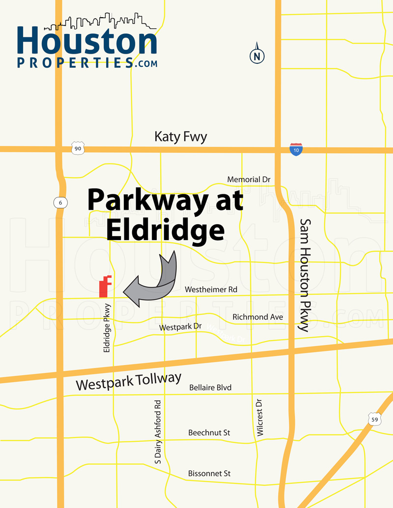 Parkway at Eldridge Map