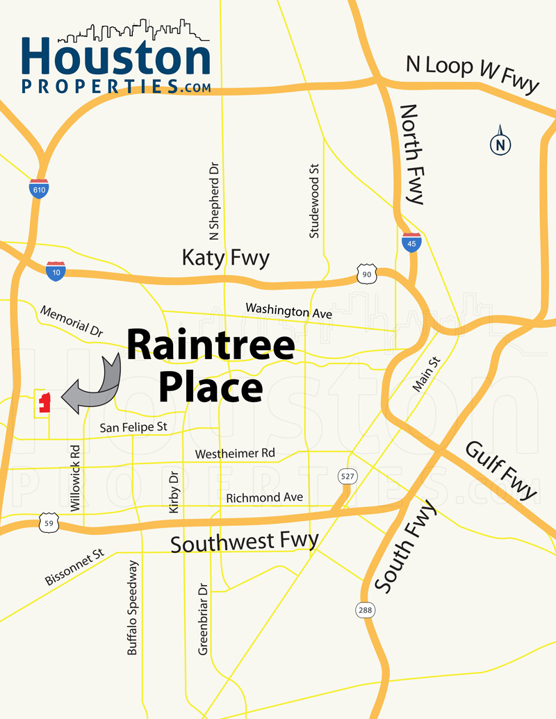 Raintree Place Map