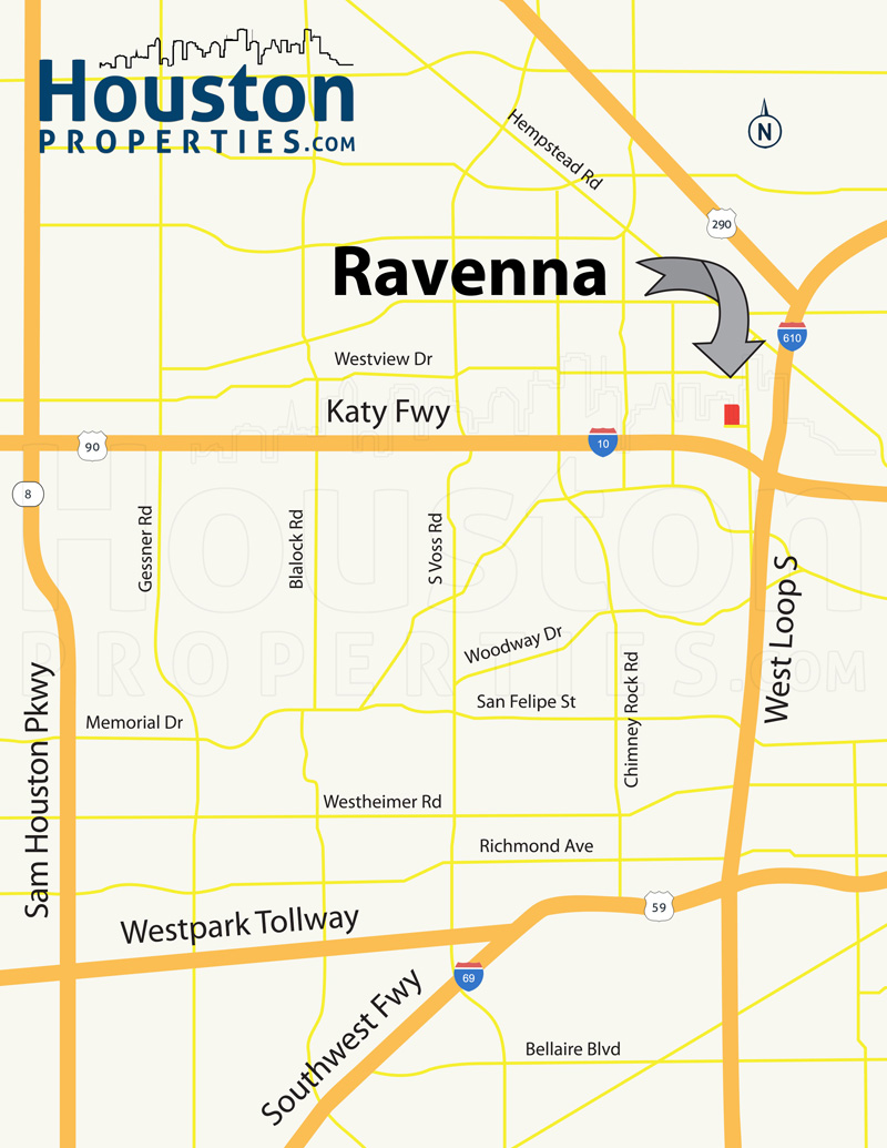 Ravenna Map