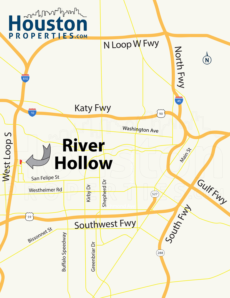 River Hollow Map