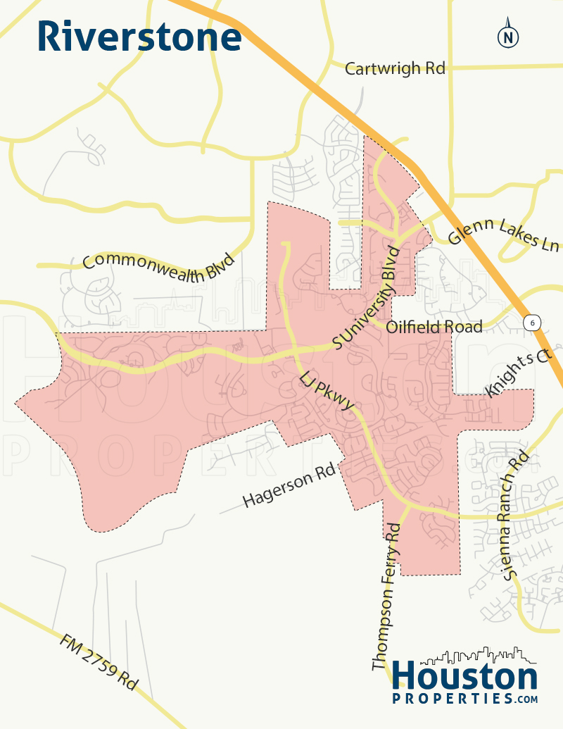 Map of Riverstone