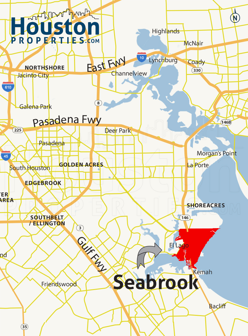 Seabrook Map