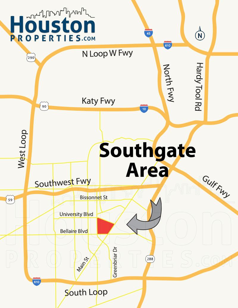 Southgate Map