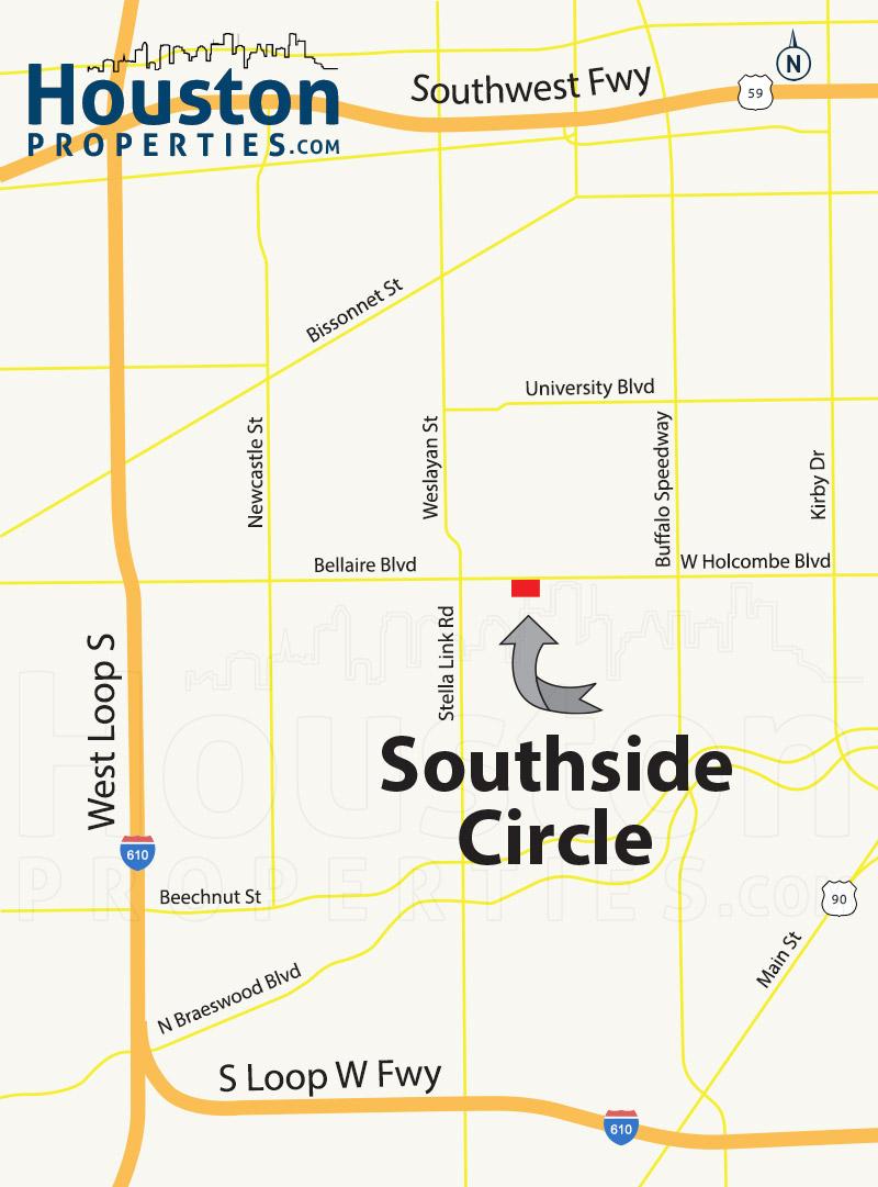 Southside Circle Map
