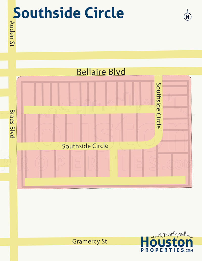 Map of Southside Circle
